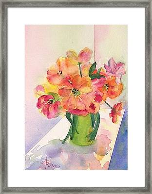 Tulips For Mother's Day Framed Print