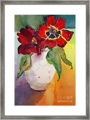 Tulips Framed Print by Gwen Nichols