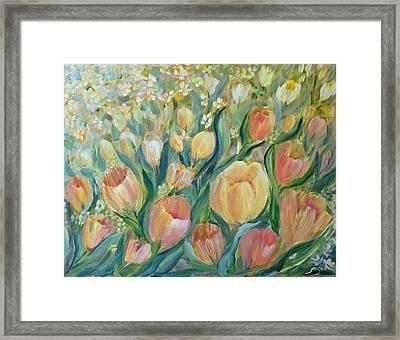 Tulips II Framed Print by Joanne Smoley