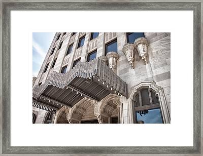 Tulsa Art Deco Framed Print by Lauri Novak