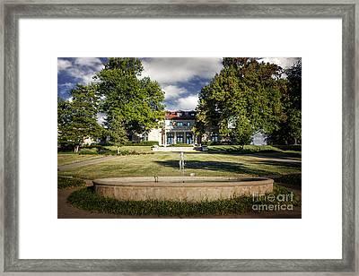 Tulsa Garden Center Framed Print by Tamyra Ayles