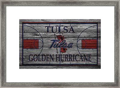 Tulsa Golden Hurricane Framed Print