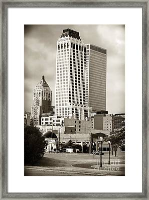 Tulsa Framed Print by John Rizzuto
