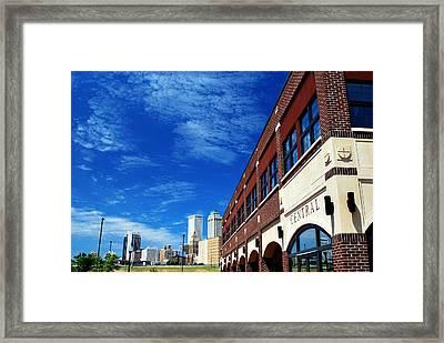 Tulsa Oklahoma From Central Park Framed Print