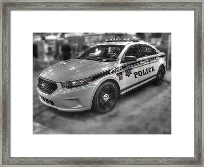 Tulsa Police At State Fair P1 Framed Print by John Straton