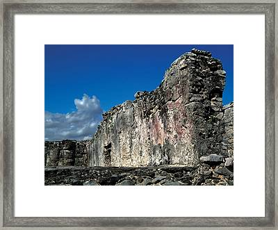 Tulum Framed Print by Mike Feraco