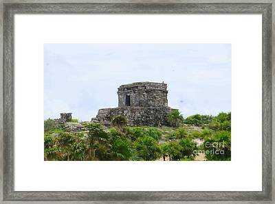 Tulum Ruins 2 Framed Print