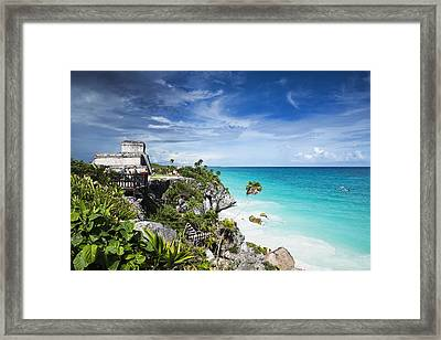 Tulum Framed Print