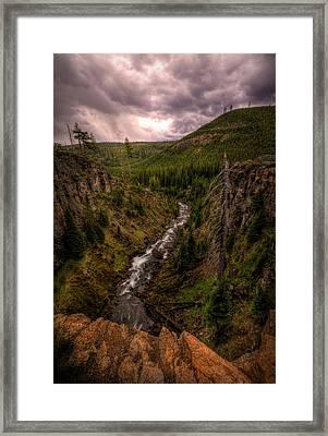 Tumalo Creek Framed Print