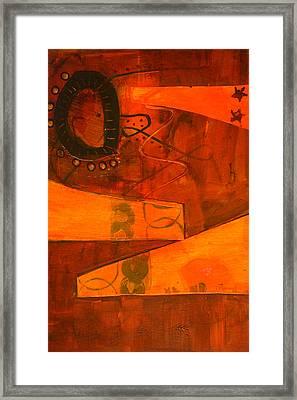 Tumble Framed Print by Nancy Merkle