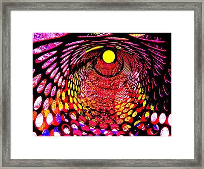 Tumbler Framed Print by Robert Geary