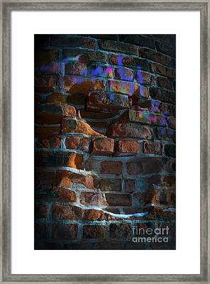 Tumbler's Back In Town Framed Print by The Stone Age