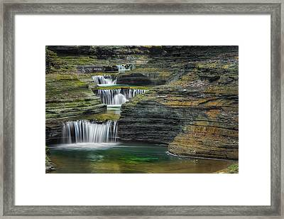 Tumblin Down Framed Print by Bill Wakeley