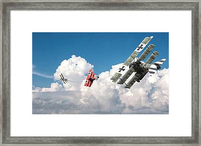 Tumult In The Clouds Framed Print by Pat Speirs