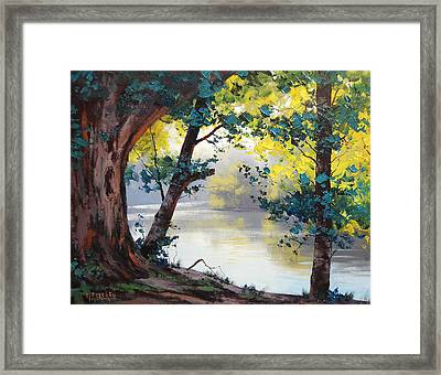 Tumut River Australia Framed Print by Graham Gercken
