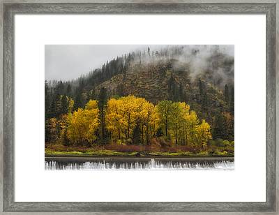 Tumwater Canyon Framed Print