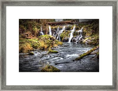 Tumwater Falls  Framed Print