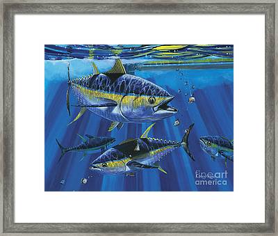 Tuna Blitz Off0039 Framed Print