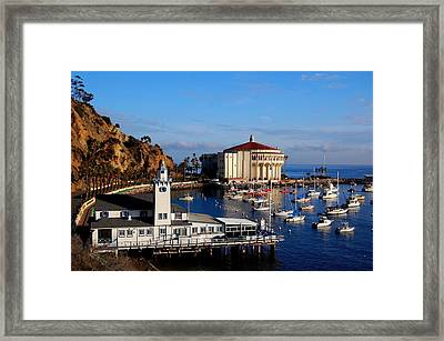 Tuna Club And Casino Framed Print by Miles Stites
