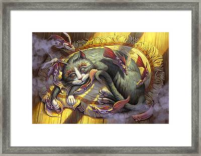 Tuna Dreams Framed Print by Jeff Haynie