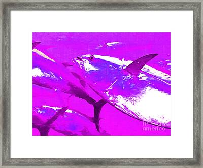 Tuna Fish M168 Framed Print by Wingsdomain Art and Photography