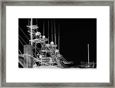 Tuna Towers Framed Print by Lynda Dawson-Youngclaus
