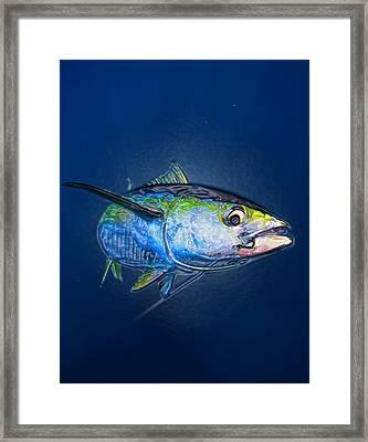 Tuna Wrap Framed Print by Lina Tricocci