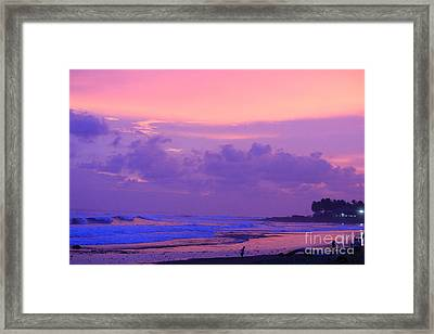 Tunco Inspiration 2 Framed Print by Stav Stavit Zagron