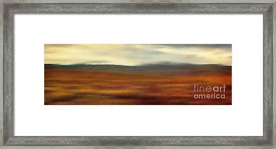 Tundra Autumn Melody Framed Print