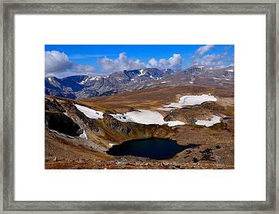 Tundra Tarn Framed Print