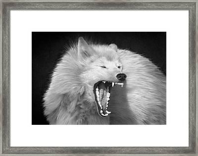 Tundra Warrior Framed Print