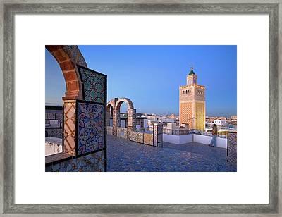 Tunis Framed Print