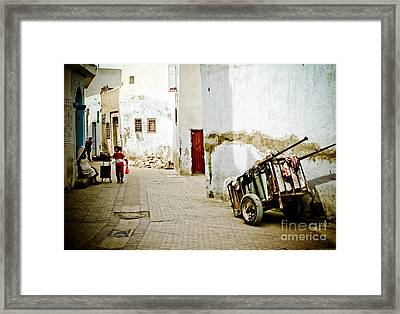 Tunisian Girl Framed Print by John Wadleigh