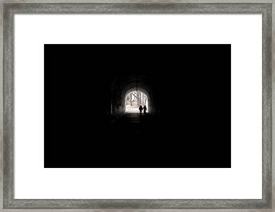 Tunnel At Marin Headlands Framed Print