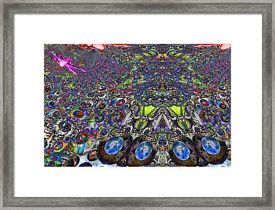 Tunnel Dance 2 Framed Print by Jason Saunders