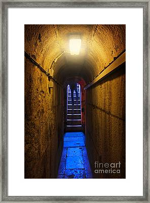 Tunnel Exit Framed Print