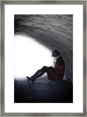 Tunnel Framed Print by Joana Kruse