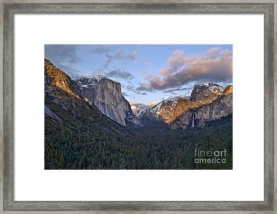 Tunnel View Framed Print