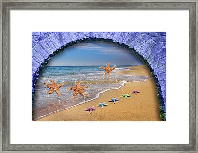 Tunnel Vision  Framed Print by Betsy Knapp