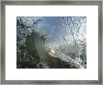 Tunnel Vision Framed Print by Brad Scott