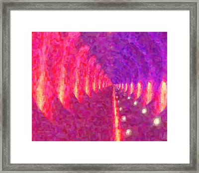 Tunnel Vision Framed Print by Kenny Francis
