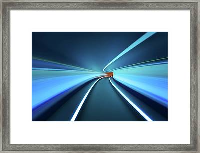 Tunnel Vision Framed Print by Robert Work