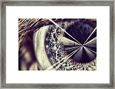 Tunnel Vision Framed Print by EXparte SE