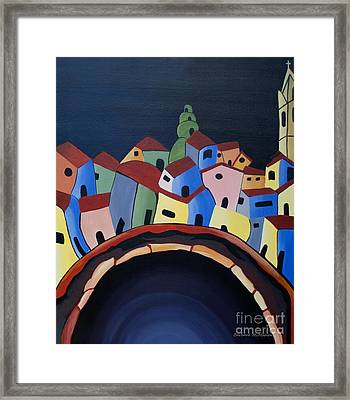 Tunnels Of Guanajuato Framed Print