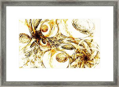 Tunnels Under The Sun Framed Print