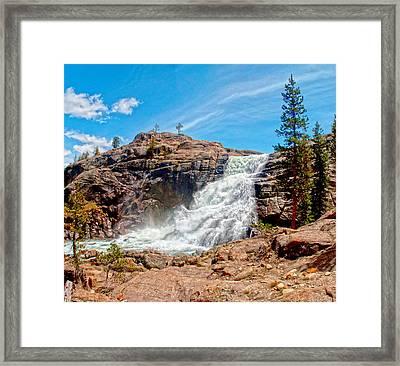 Tuolumne Fall  Framed Print