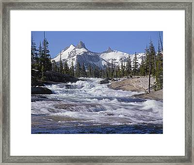 6m6539-tuolumne River  Framed Print