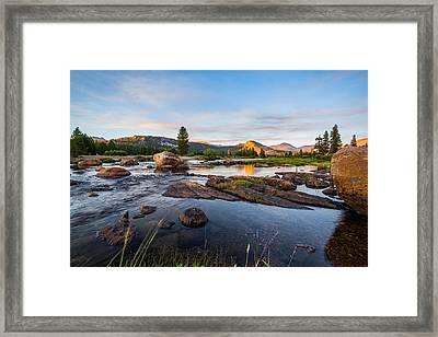 Tuolumne River Framed Print