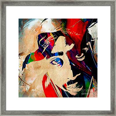 Tupac Collection Framed Print