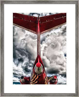 Tupolev Tu-154  Framed Print